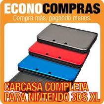 Carcasa Completa Para Nintendo 3ds Xl De Colores 100% Nuevo!