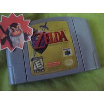 Zelda Ocarina Of Time N64 (guarda Partidas)