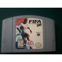 Juego De Nintendo 64 Casette Fifa 98 Fifa98 Cartucho