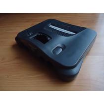 Carcasa Para Nintendo 64 Buen Estado N64 Color Negro Solo Ca