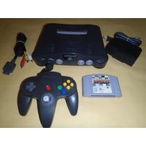 Nintendo 64 Completo, 1 Control + Juego California Speed