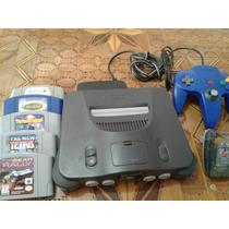 Nintendo 64 Con Extras Super Precio