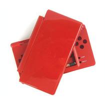 Carcasa Plastica Para Nintendo Roja Ds Lite Nuevo
