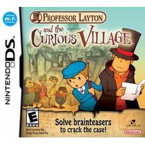 Proffesor Layton And The Curious Village - Ds - Envío Gratis
