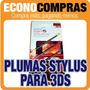 Plumas Stylus Para Nintendo 3ds Varios Colores 100% Nuevos