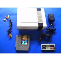 Consola Nintendo Lista Para Usuarse Mas Un Juego