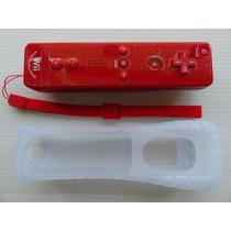 Remote Plus Con Motion Plus Integrado Color Rojo (nuevo) Vv4