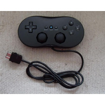 Classic Control Para Wii Color Negro (nuevo) Rm4