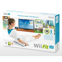 Wii Fit U Con Wii Balance Board Y Fit Meter