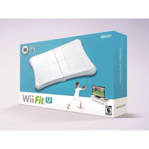 Nintendo Wii Fit U + Balance Board + Fit Meter Nuevo Sellado