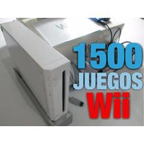 Nintendo Wii Con Disco Duro +2000 Juegos Incluidos Regalos