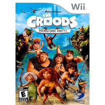 Seminuevos El Partido Prehistoria Croods Para Nintendo Wii