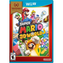 ® Super Mario 3d World Para Wii U Nuevo Y Sellado ®