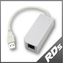 Lan Red Internet Adapter Adaptador Usb Wii U Pc Lag