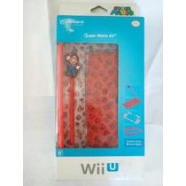 Super Mario Kit Wii U Nintendo Nuevo Gamepad Protector