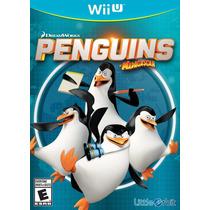 Penguins Of Madagascar - Wii U - Nuevo Con Envio Gratis