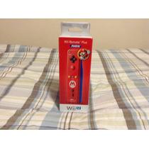 Wii Remote Plus Mario Nuevo Sellado
