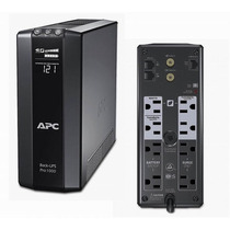 Apc Back-ups Pro, 600 Watts /1000 Va, Eapc-nob-br1000g Upc: