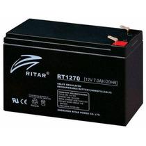 Baterias Ups Recargables De 12v A 7ah Para Nobreak ,etc