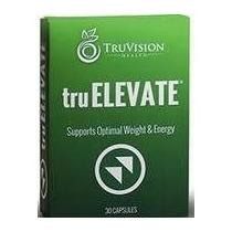 ~ Truelevate Truvision Salud ~ 30 ~ Cápsulas Soporta El Peso