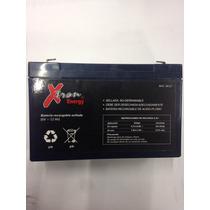 Batería Recargable 6v 12a Xtron