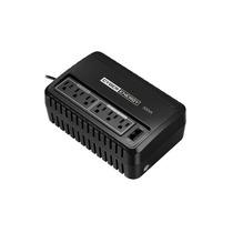 Ups 500va Con Regulador De Voltaje Avr, 6 Contactos, Tel/red