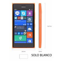 Lumia 735 De Nokia Windows 8.1 Exp A Windows 10 Color Blanco