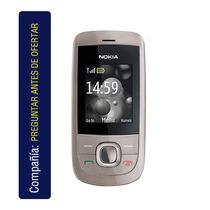 Nokia 2220 Slide Cám Vga Sms Mms Reproductor Mp3 Radio Fm