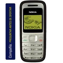 Nokia 1200 Polifonico Sms Reloj Alarma Juegos Calculadora