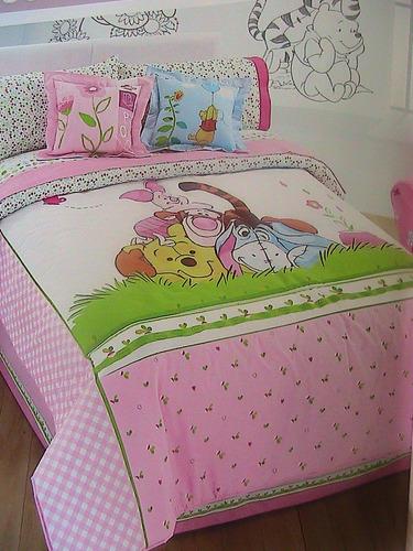 Cortina Baño Winnie Pooh:Nuevo! Edredón Y Sábanas De Winnie Pooh, Varios Modelos Omm – $