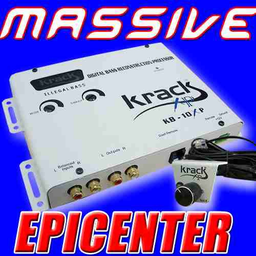 Nuevo Epicentro Krack Kb-10xp Woofer Amplificador Dd9
