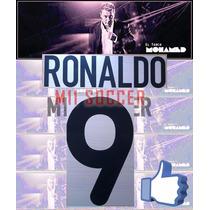 Estampado Inter De Milan 2000, Visita #9 Ronaldo