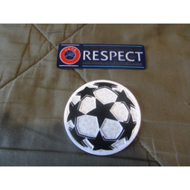 Parches Uefa Champions League Starball Respect Excelente