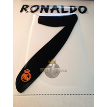 Tipografia Sporting Id* Ronaldo Real Madrid 13-14 Numeracion