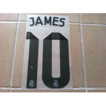 Nombre Y Numero James 2014-2015 Local