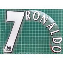 Estampado Cristiano Ronaldo Cr7 Manchester Real Madrid