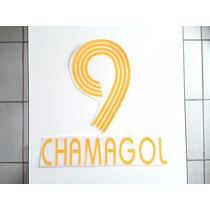 Estampado Tigres Visita 2006 #9 Chamagol $99