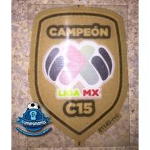 Parche Oficial Original Jersey Santos Campeón Clausura 2015