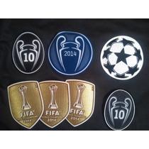 Parche De Campeon 10 Copas Real Madrid De Champions League