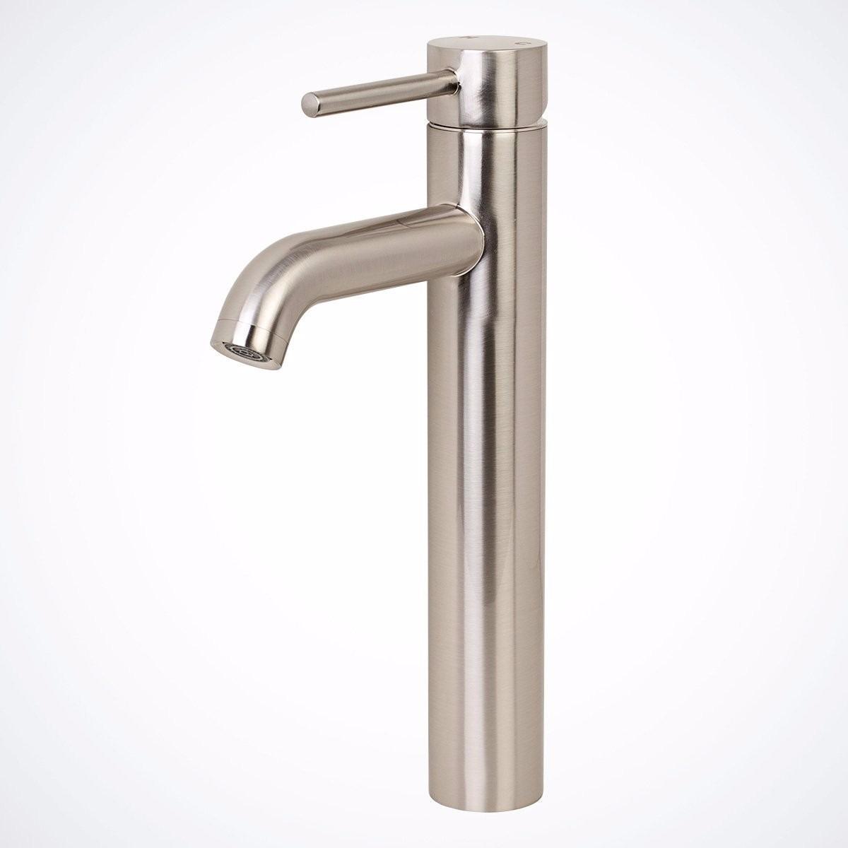 Odbo lb 7141hb monomando mezcladora larga satin para for Mezcladora para lavabo