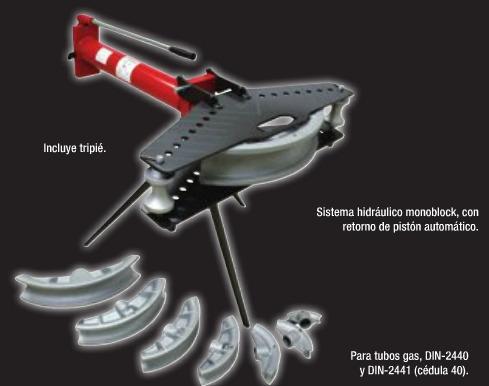 Doblador de tubo manual