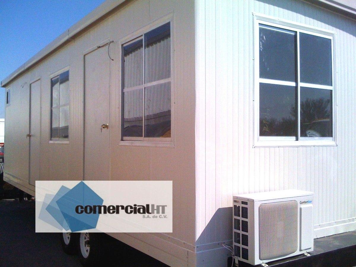 Oficina movil remolque caseta m vil de multypanel for Oficinas moviles