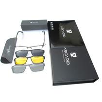 Lentes Armazon Oftalmica Mod. Le501 Titanium Multi-vision