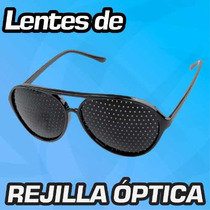 Anteojos Reticulares* Rejilla Óptica * Lentes Gafas Factura