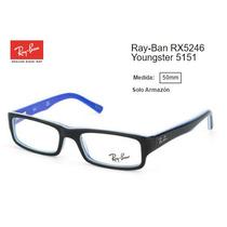 Armazón Para Lentes Ray-ban Rx5246 Youngster 5151