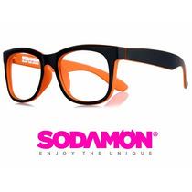 Armazon Oftalmico Sodamon 8021-c1 Geek Hipster Skate Kpop