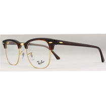 Ray Ban Clubmaster Rb 5154 2372 Gold Tortoise Chico Mediano