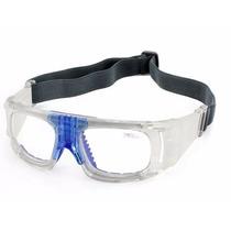 Goggle Deportivo Azul Para Graduar Oftalmico Sport Futbol