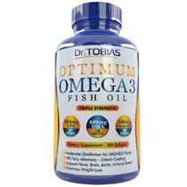 Omega 3 Píldoras De Aceite De Pescado (180 Cuentas) - Fuerza