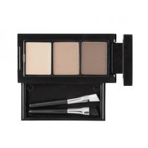 Kit De 2 Sombras Y Cera Maquillaje Para Cejas Preventa
